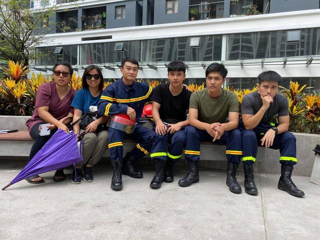 Lộ diện dàn lính cứu hỏa cực soái ca trong phim mới của VFC - ảnh 7
