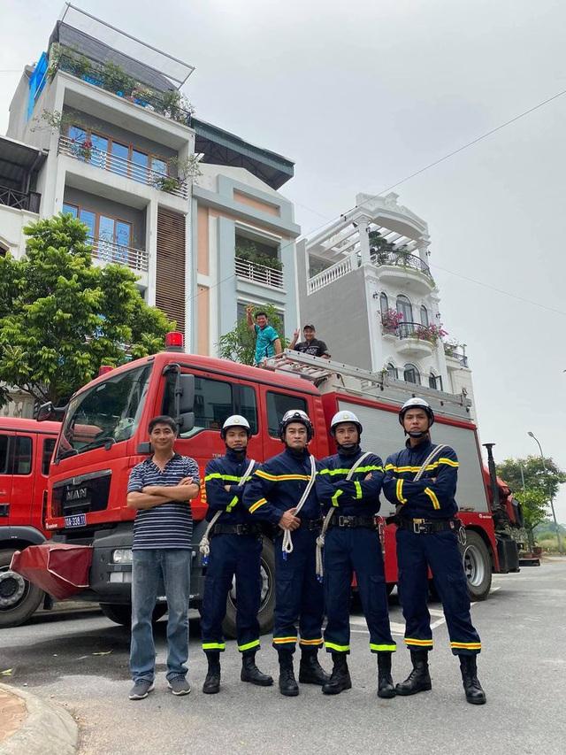 Lộ diện dàn lính cứu hỏa cực soái ca trong phim mới của VFC - ảnh 8
