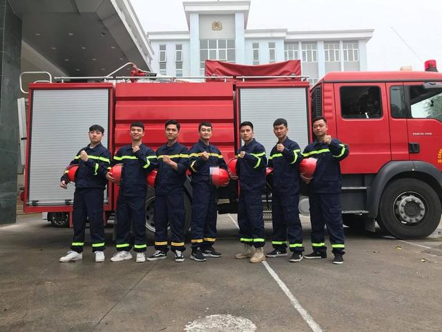 Lộ diện dàn lính cứu hỏa cực soái ca trong phim mới của VFC - ảnh 10