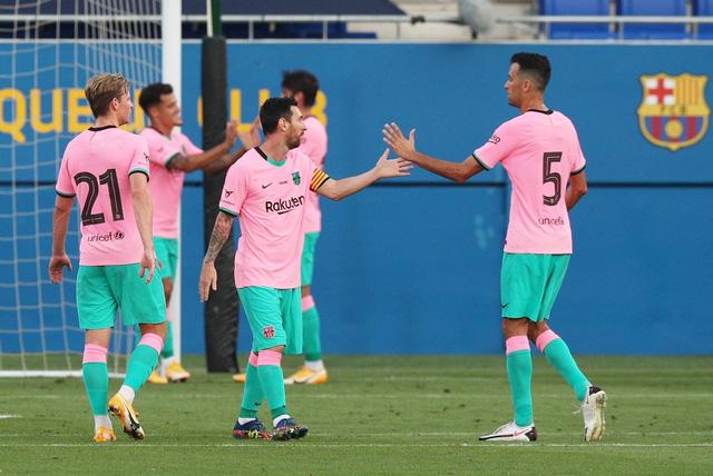 Messi lập cú đúp trong trận giao hữu thứ 2 của Barcelona - Ảnh 2.