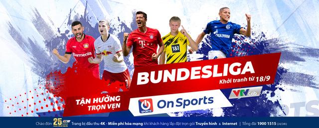 Bundesliga 2020/2021 sôi động trên On Sports/VTVcab từ 18/9 - Ảnh 1.