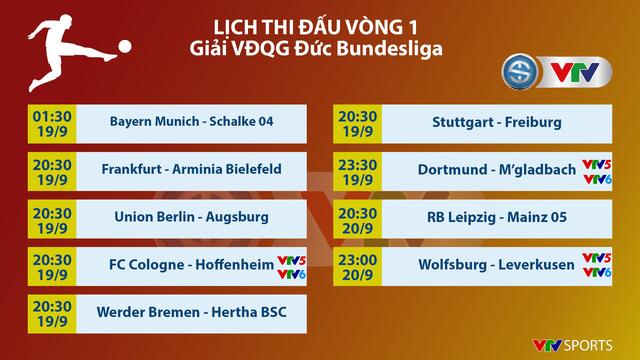 Đài Truyền hình Việt Nam tường thuật trực tiếp các trận đấu giải VĐQG Đức Bundesliga - Ảnh 3.