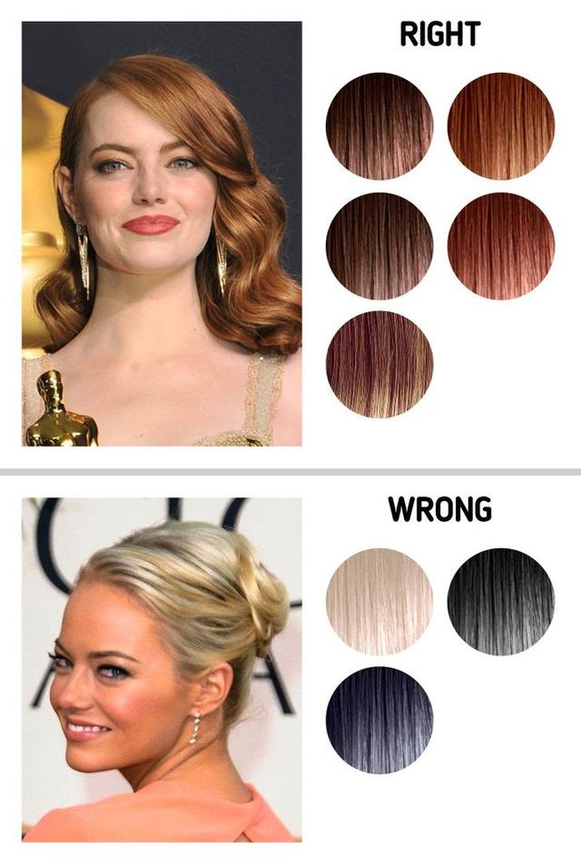Tất tần tật về bí quyết chọn màu tóc phù hợp mới màu da - ảnh 4