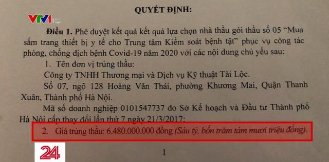 Mua sắm thiết bị y tế phòng dịch COVID-19 tại Thái Bình: Hầu hết các gói thầu đều có sai phạm - Ảnh 1.