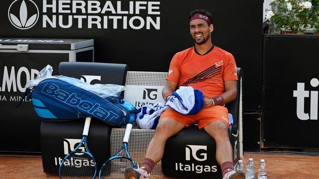 Vòng 2 giải quần vợt Italia mở rộng: Milos Raonic, Fognini đều bị loại - Ảnh 1.