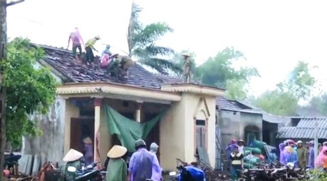 Hà Tĩnh thiệt hại hơn 700 triệu đồng do bão số 5 - Ảnh 2.