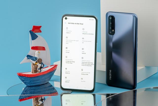 Cận cảnh Realme 7: Smartphone đầu tiên trên thế giới chạy Helio G95 - Ảnh 7.