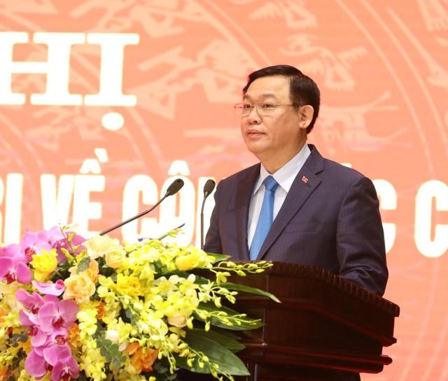 Ông Chu Ngọc Anh nhận quyết định giữ chức Phó Bí thư Thành uỷ Hà Nội - Ảnh 2.