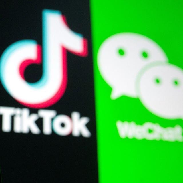 Mỹ cấm người dùng tải TikTok và WeChat - ảnh 1