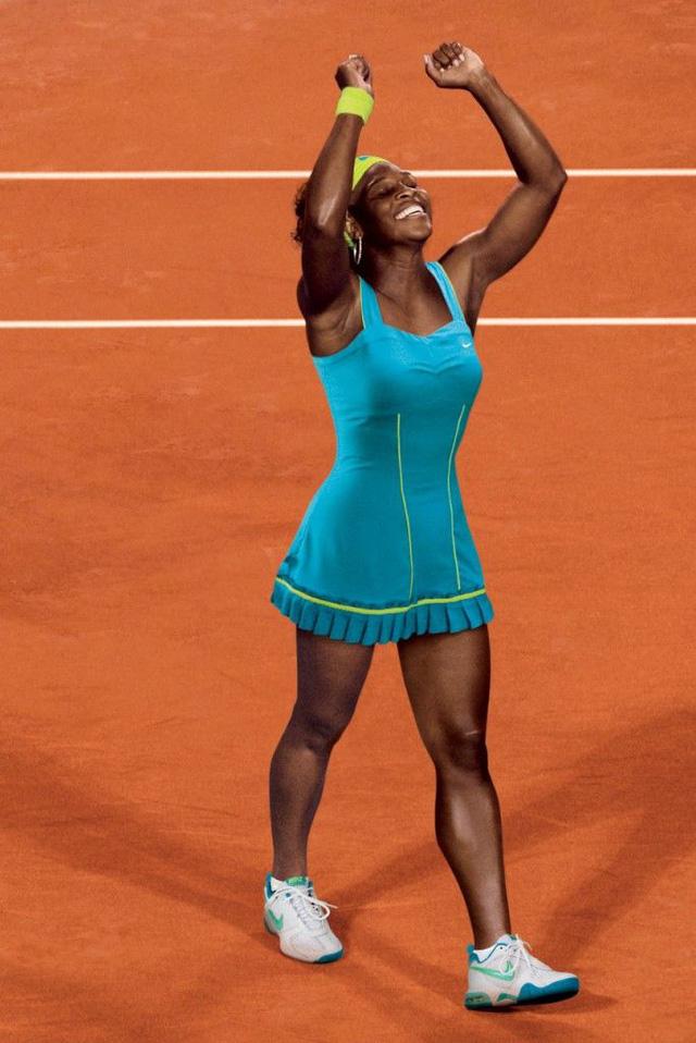 Serena Williams tích cực chuẩn bị cho Pháp mở rộng - Ảnh 1.