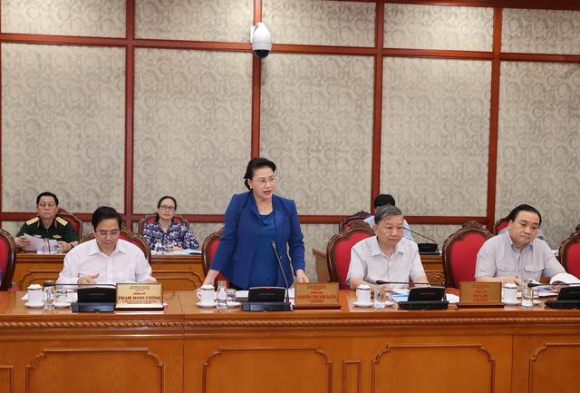 Bộ Chính trị cho ý kiến về chuẩn bị đại hội đối với 20 đảng bộ trực thuộc Trung ương - Ảnh 1.