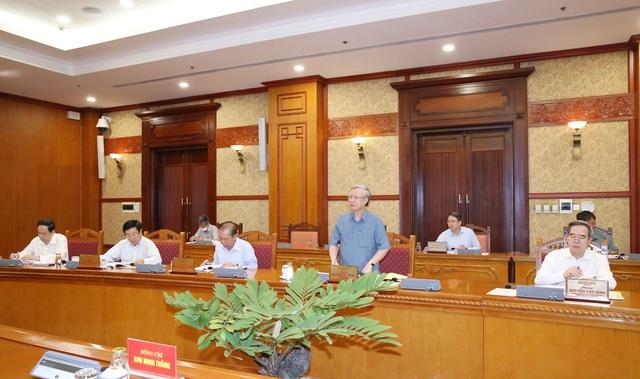 Bộ Chính trị cho ý kiến về chuẩn bị đại hội đối với 20 đảng bộ trực thuộc Trung ương - Ảnh 2.