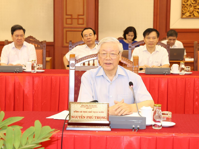 Bộ Chính trị cho ý kiến công tác chuẩn bị Đại hội Đảng bộ TP Hà Nội - Ảnh 1.