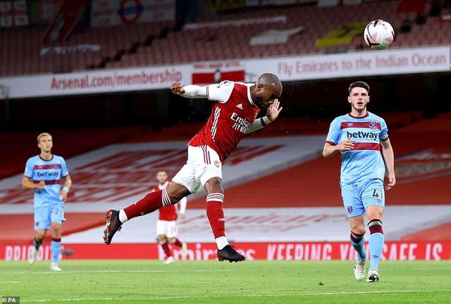 Arsenal 2-1 West Ham: 3 điểm nhọc nhằn - Ảnh 1.