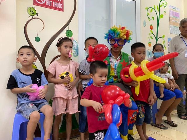Quỹ Tấm lòng Việt cùng đơn vị thiện nguyện tổ chức Trung thu cho em cho các bệnh nhi tim bẩm sinh - Ảnh 1.