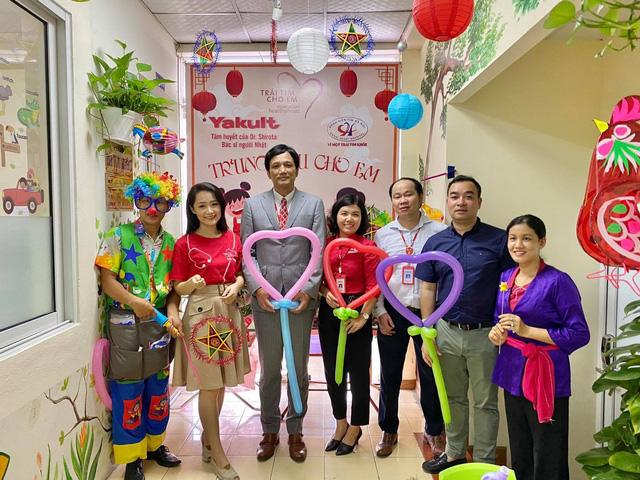 Quỹ Tấm lòng Việt cùng đơn vị thiện nguyện tổ chức Trung thu cho em cho các bệnh nhi tim bẩm sinh - Ảnh 5.
