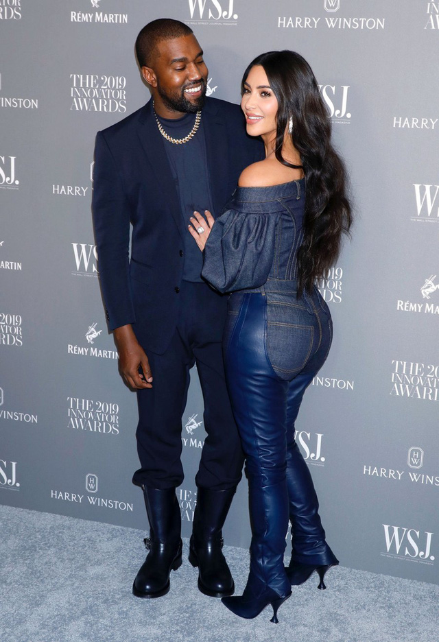 Kim Kardashian bất lực với Kanye West - ảnh 1