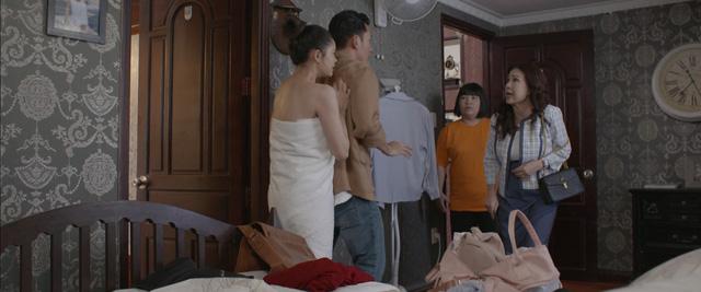 Trói buộc yêu thương - Tập 1: Bà Lan ngứa mắt với bạn gái con trai út ngay lần gặp đầu tiên - Ảnh 3.