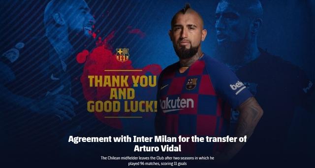 Inter Milan chính thức có Vidal với giá rẻ giật mình - Ảnh 1.