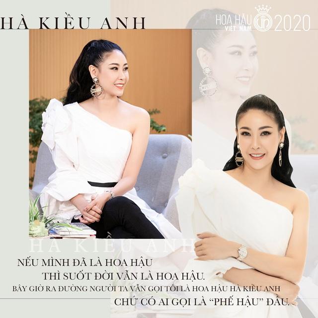 Hoa hậu Hà Kiều Anh tiết lộ lúc đăng quang, khóc đến rơi cả lông mi - Ảnh 2.