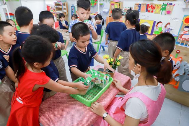 Sữa học đường đồng hành cùng học sinh Đà Nẵng sau giãn cách - Ảnh 6.