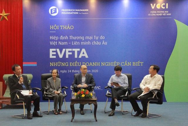 EVFTA không chỉ là nơi xuất con tôm, bán cân gạo - Ảnh 1.