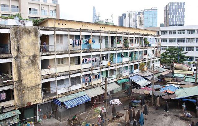 Đề xuất cơ chế, chính sách đặc thù trong cải tạo chung cư cũ - Ảnh 1.