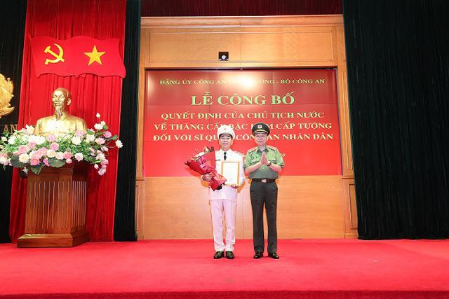 Thứ trưởng Bộ Công an Trần Quốc Tỏ được thăng hàm Trung tướng - Ảnh 1.