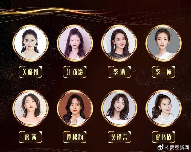 Danh sách ứng viên vị trí Nữ thần Kim ưng 2020 đã công bố! - Ảnh 1.