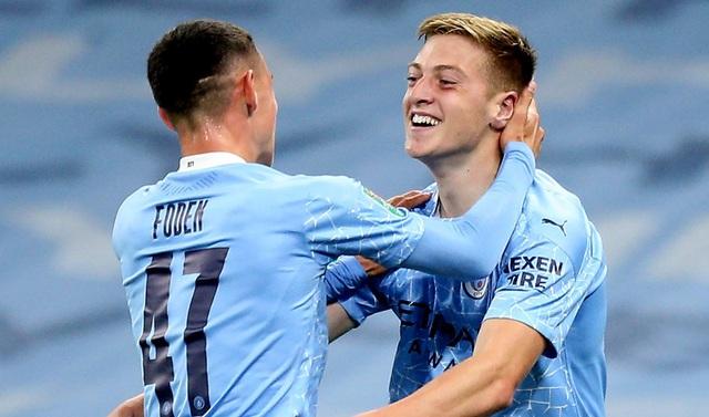 Man City 2-1 Bournemouth: Sao trẻ tỏa sáng, Man Xanh tiến vào vòng 4 cúp Liên đoàn Anh - Ảnh 4.