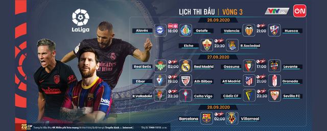 Barcelona – Villarreal và nhiều trận cầu hấp dẫn trên VTVcab cuối tuần - Ảnh 1.
