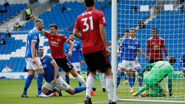 Dư âm trận Brighton 2-3 Man Utd: Chủ nhà lập kỷ lục về sự... đen đủi! - Ảnh 3.
