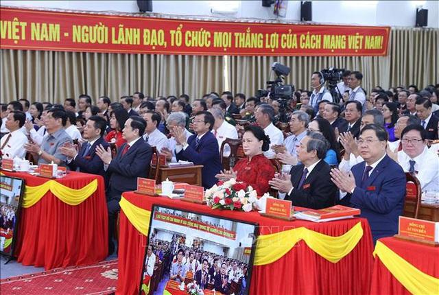 10/63 tỉnh, thành phố tổ chức thành công Đại hội Đảng bộ - Ảnh 6.