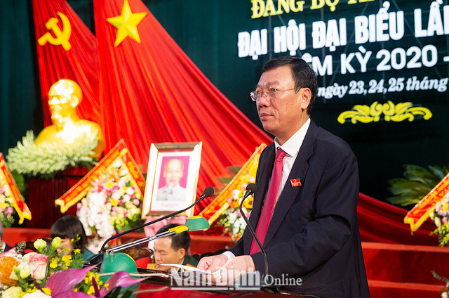 10/63 tỉnh, thành phố tổ chức thành công Đại hội Đảng bộ - Ảnh 7.