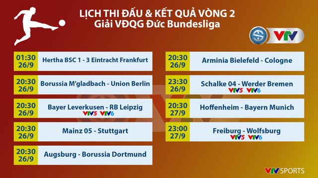 Giành 3 điểm trước Hertha Berlin, Frankfurt vượt mặt Bayern, Dortmund để dẫn đầu Bundesliga - Ảnh 3.