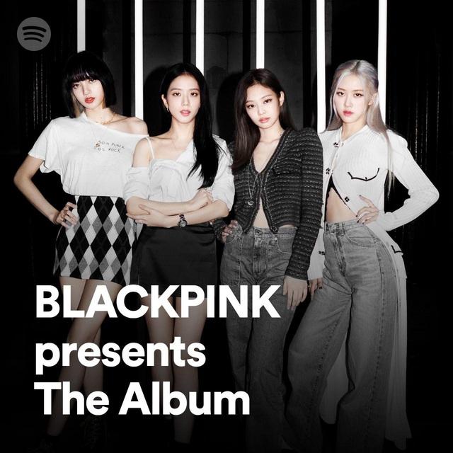 """BlackPink trình làng danh sách phát đặc biệt trên Spotify trước thềm ra mắt """"The Album"""" - ảnh 1"""