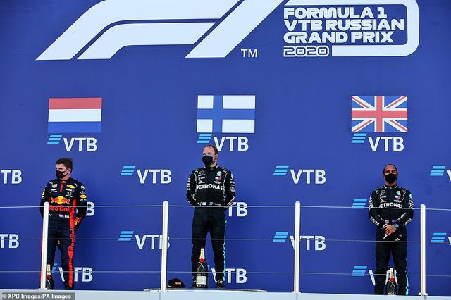Valtteri Bottas giành chiến thắng tại GP Nga - Ảnh 4.