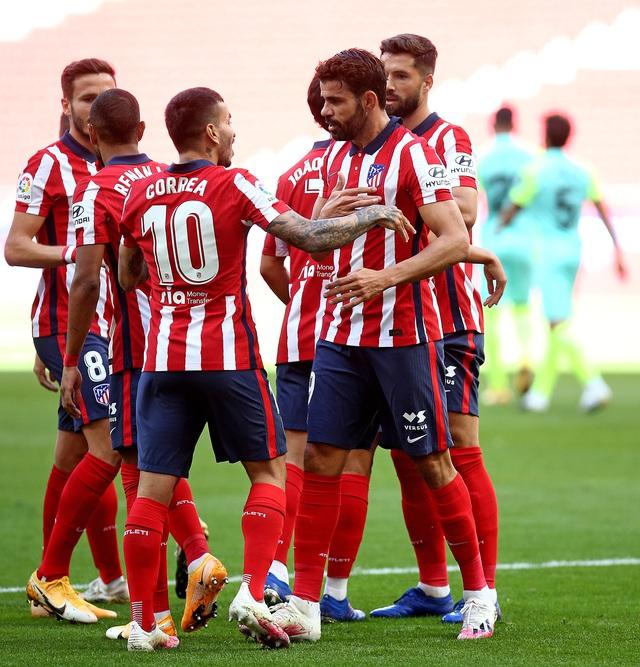 Atletico Madrid 6-1 Granada: Màn ra mắt hoàn hảo của Luis Suarez - Ảnh 1.