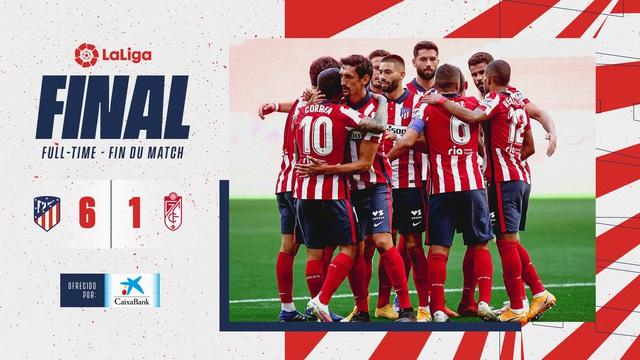 Atletico Madrid 6-1 Granada: Màn ra mắt hoàn hảo của Luis Suarez - Ảnh 4.