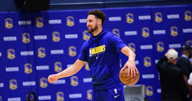 Klay Thompson trở lại tập luyện cùng Golden State Warriors - Ảnh 1.