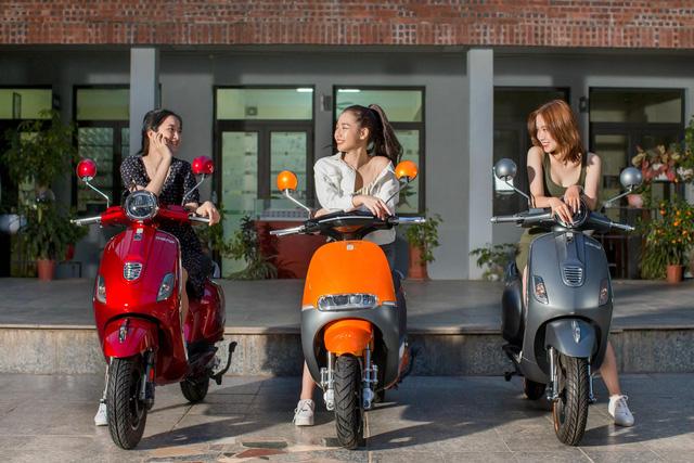 Một số mẫu xe máy điện Dibao hấp dẫn học sinh mùa tựu trường - Ảnh 1.