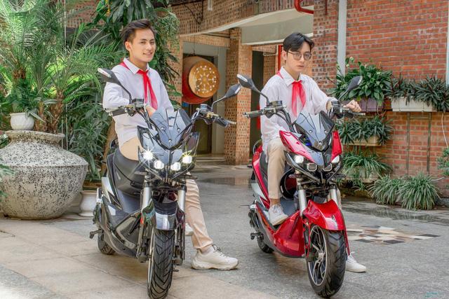 Một số mẫu xe máy điện Dibao hấp dẫn học sinh mùa tựu trường - Ảnh 2.