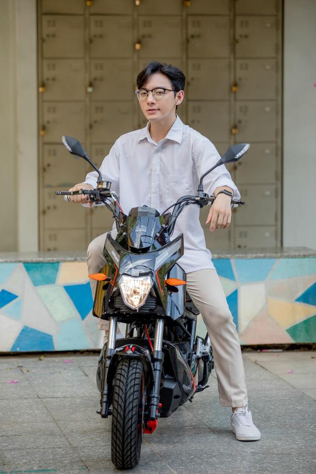 Một số mẫu xe máy điện Dibao hấp dẫn học sinh mùa tựu trường - Ảnh 4.