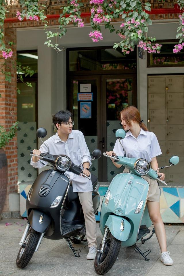 Một số mẫu xe máy điện Dibao hấp dẫn học sinh mùa tựu trường - Ảnh 5.