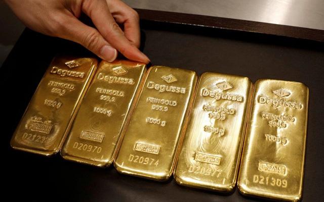 Giá vàng trong nước quay đầu lao dốc - Ảnh 1.