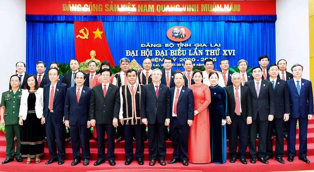Ông Hồ Văn Niên tái đắc cử Bí thư Tỉnh ủy Gia Lai - Ảnh 1.