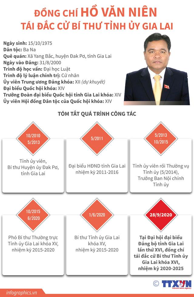 Ông Hồ Văn Niên tái đắc cử Bí thư Tỉnh ủy Gia Lai - Ảnh 2.