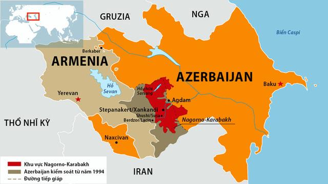 Xung đột vũ trang Armenia - Azerbaijan khiến cộng đồng quốc tế lo ngại - Ảnh 1.