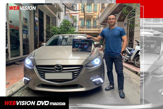 Webvision DVD Mazda - nâng cấp tiện ích, nâng tầm xe sang - Ảnh 1.