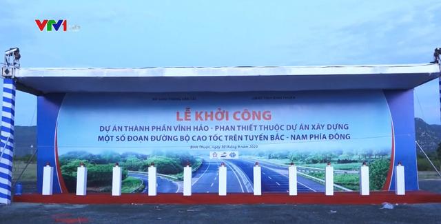 Hôm nay, đồng loạt khởi công 3 dự án thành phần cao tốc Bắc - Nam - Ảnh 1.